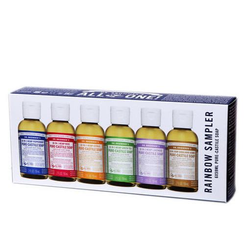 Dr. Bronner Rainbow Sampler  by Dr. Bronner's