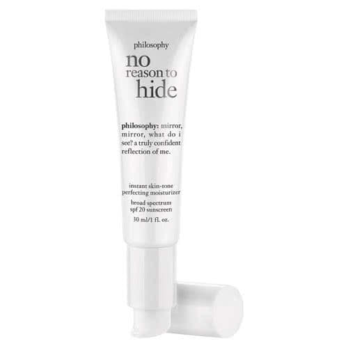 philosophy no reason to hide: skin-tone perfecting moisturizer spf 20 by philosophy