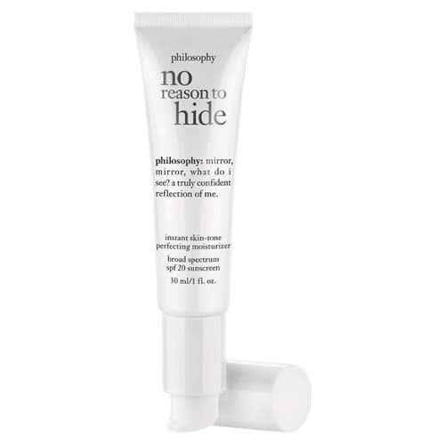 philosophy no reason to hide: skin-tone perfecting moisturizer spf 20