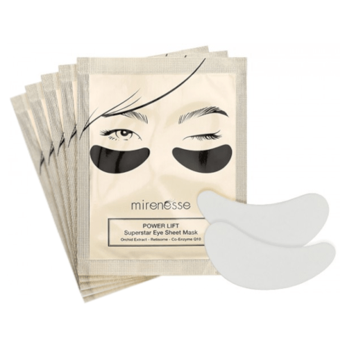 Mirenesse Power Lift Super Star Eye Sheet Mask Set 5 piece