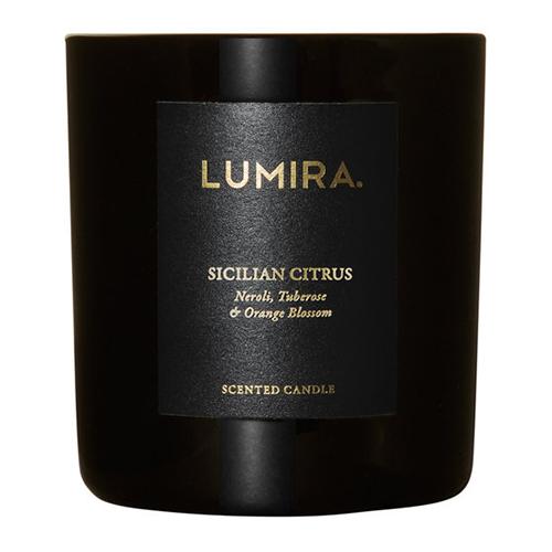 Lumira Glass Candle –  Sicilian Citrus by Lumira