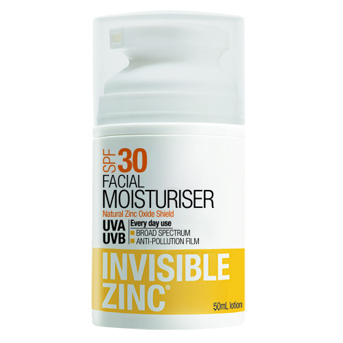 Invisible Zinc Environmental Skin Protector SPF30+ 30ml by Invisible Zinc