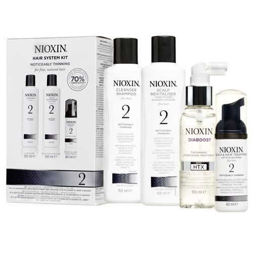 Nioxin System 2 Diaboost & Trial Pack by Nioxin
