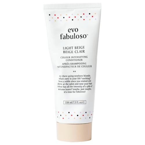 evo fabuloso light beige colour intensifying conditioner 220ml by evo