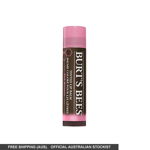 Burt's Bees Tinted Lip Balm-Pink Blossom