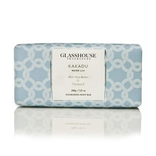 Glasshouse Kakadu Nourishing Body Bar - Water Lily by Glasshouse Fragrances