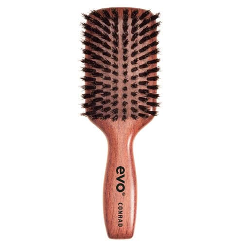 evo Conrad Boar Bristle Paddle Brush