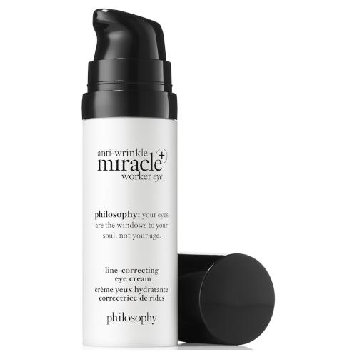 philosophy anti-wrinkle miracle worker + line-correcting eye cream 15ml