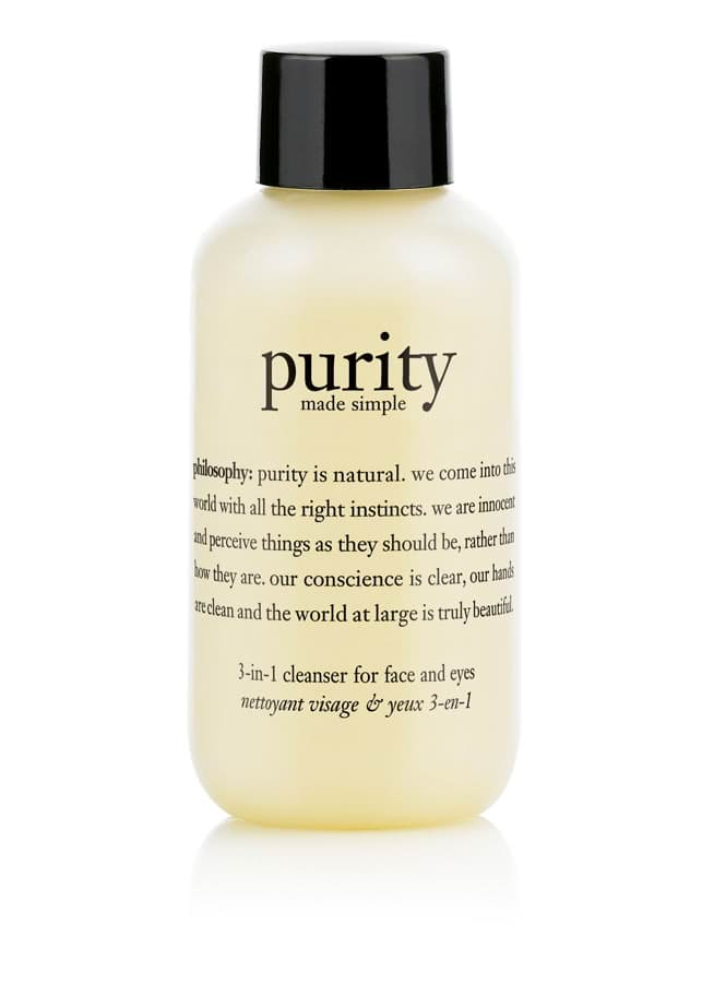 philosophy purity made simple 3-in-1 cleanser for face and eyes 90ml - 90ml