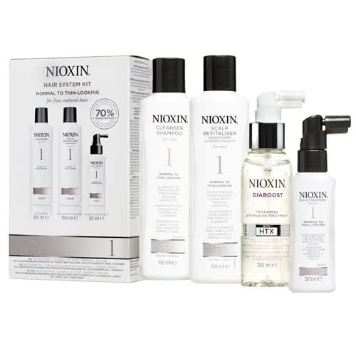 Nioxin System 1 Diaboost & Trial Pack by Nioxin
