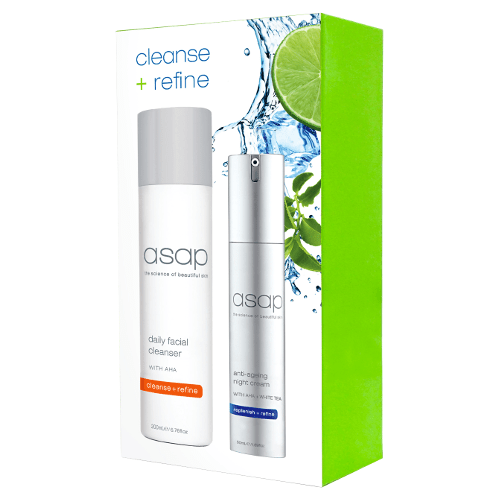 asap cleanse + refine pack by asap