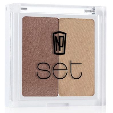 NP Set Eye Shadow Duo-Saint Lucia by NP Set color Saint Lucia