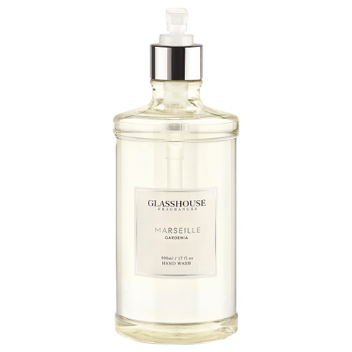 Glasshouse Marseille Hand Wash - Gardenia  by Glasshouse Fragrances