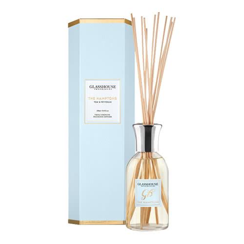 Glasshouse The Hamptons Diffuser - Teak & Petitgrain by Glasshouse Fragrances