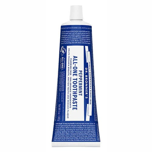 Dr. Bronner Toothpaste - Peppermint by Dr. Bronner's