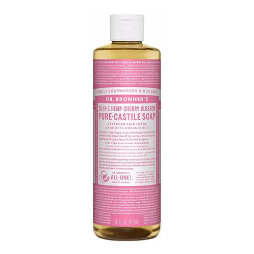 Dr. Bronner Castile Liquid Soap - Cherry Blossom 473ml