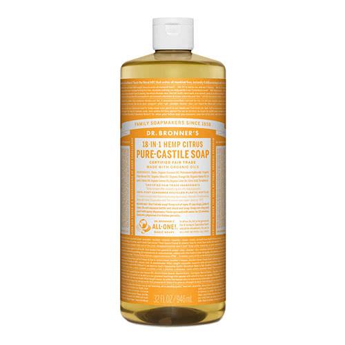 Dr. Bronner Castile Liquid Soap - Citrus 946ml