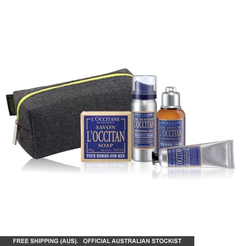 L'Occitane Travel Set For Men by loccitane
