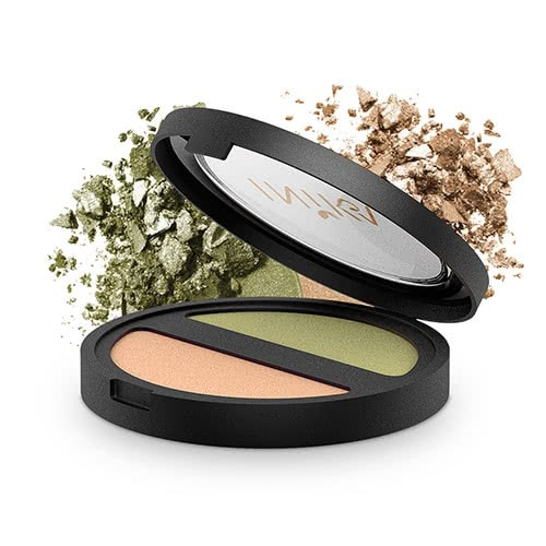 Inika Pressed Mineral Eye Shadow Duo by Inika