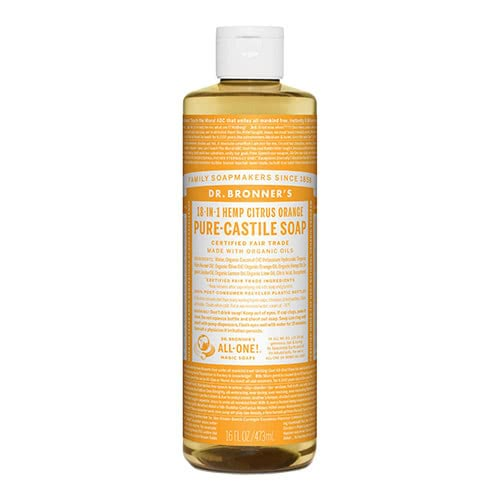 Dr. Bronner Castile Liquid Soap - Citrus 473ml by Dr. Bronner's