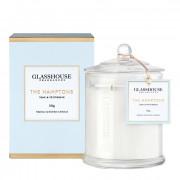 Glasshouse The Hamptons Candle - Teak & Petitgrain 350g by Glasshouse Fragrances