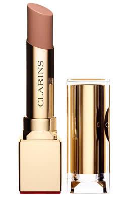 Clarins Rouge Eclat Satin Finish Age-Defying Lipstick-15 Nude Caramel