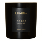Lumira Glass Candle –  No352 Leather & Cedar
