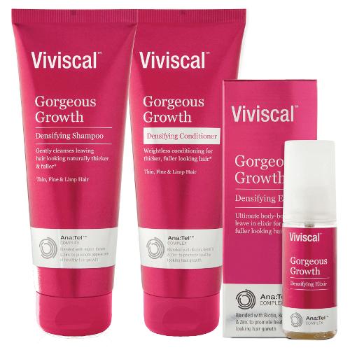 Viviscal Shampoo, Conditioner & Elixir Trio Pack