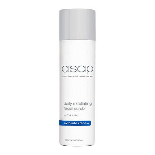 asap daily exfoliating facial scrub 200ml