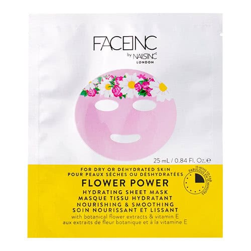 Face Inc Flower Power Sheet Mask - Hydrating by nails inc.