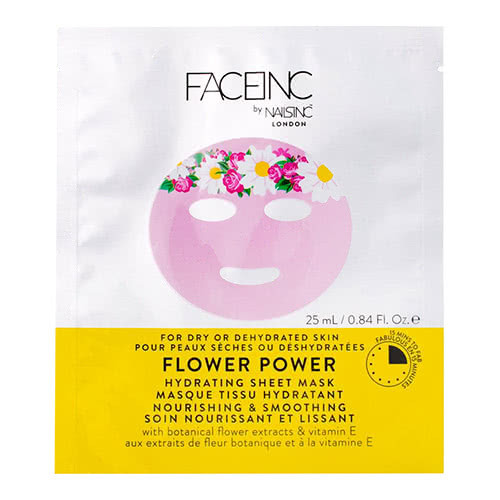Face Inc Flower Power Sheet Mask - Hydrating
