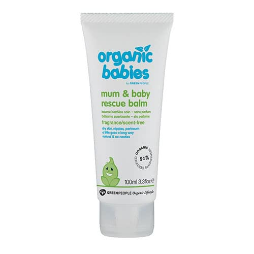 Organic Babies Mum & Baby Rescue Balm - Scent Free by Green People