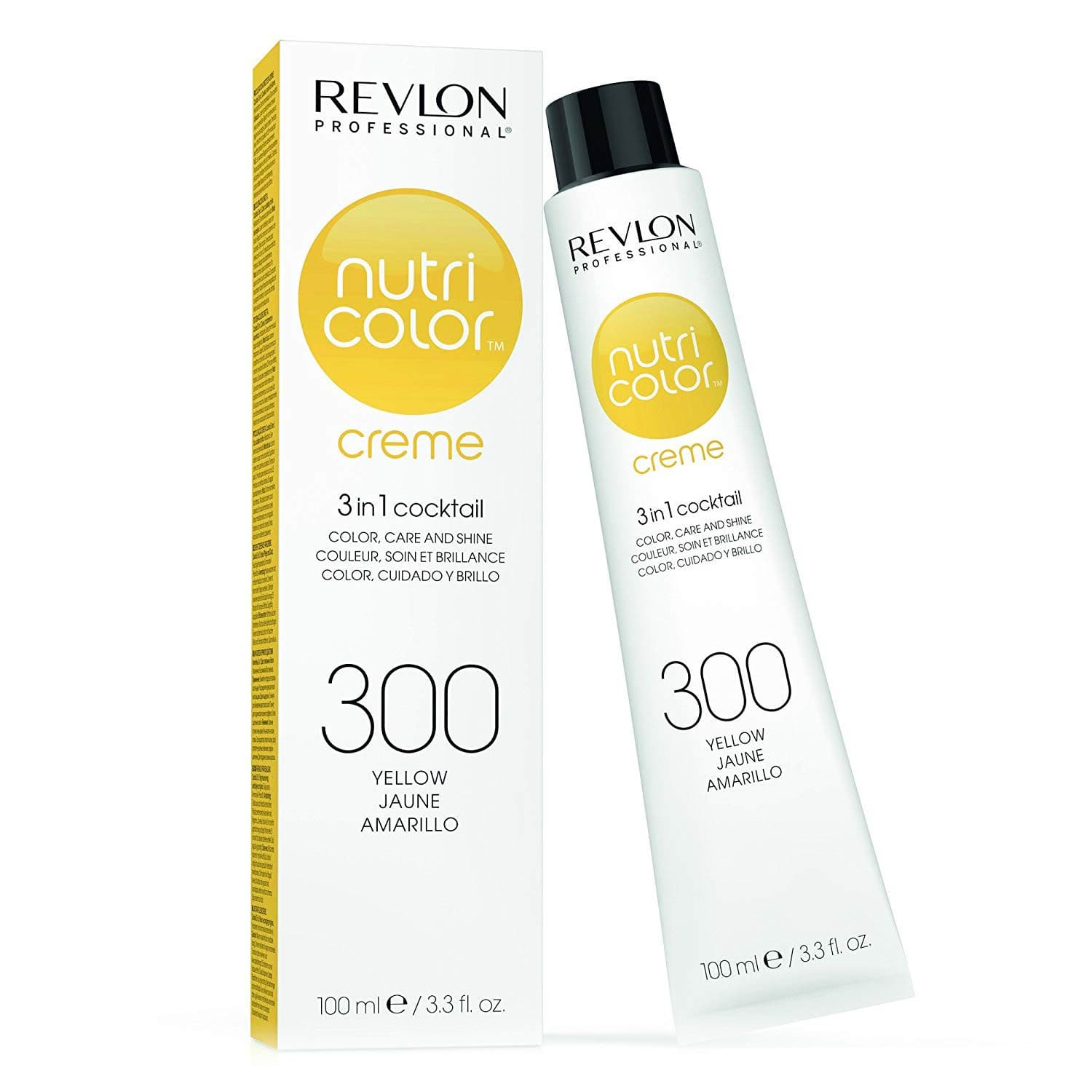 Revlon Professional Nutri Color Crème - 300 Yellow 100ml by Revlon Professional