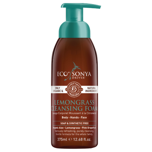 Eco Tan Foaming Body Wash - Pink Grapefruit & Lemongrass by Eco Tan
