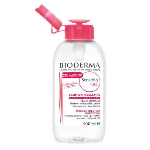Bioderma Sensibio H20 Reverse Pump 500ml by Bioderma