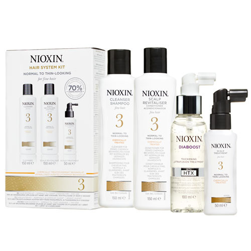 Nioxin System 3 Diaboost & Trial Pack by Nioxin