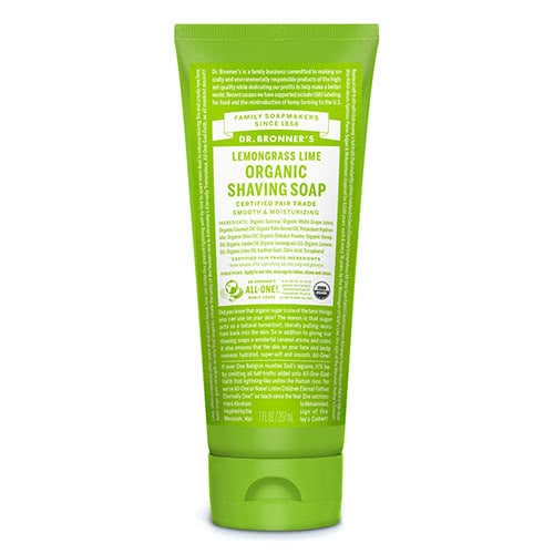 Dr. Bronner Organic Shaving Soap - Lemongrass Lime by Dr Bronner-s