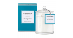 Glasshouse Tahiti Candle - Tiare Flower & Coconut 350g by Glasshouse Fragrances