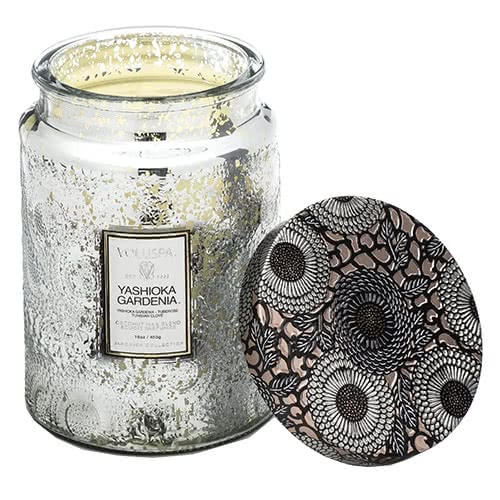 Voluspa  Yashioka Gardenia Jar Candle by Voluspa