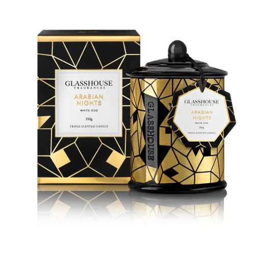 Glasshouse Arabian Nights Candle - Limited Edition by Glasshouse Fragrances