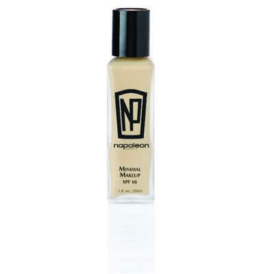 Napoleon Perdis Minimal Makeup - Look 4 (Tan - Olive/Warm)