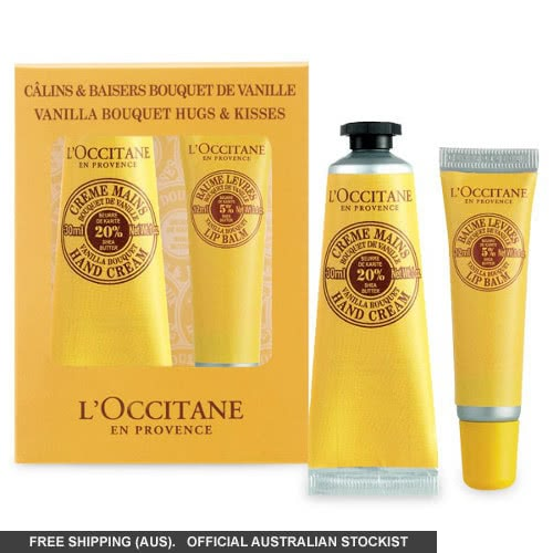 L'Occitane Shea Vanilla Bouquet Hugs & Kisses Set by loccitane