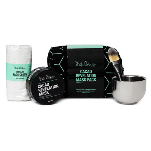 Black Chicken Remedies Cacao Revelation Mask Set