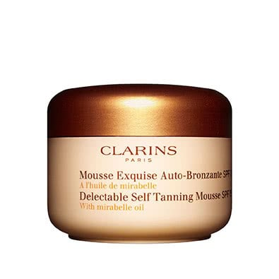 Clarins Delectable Self Tanning Mousse SPF 15 by Clarins