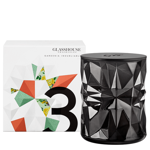 La Maison Glasshouse Candle - No.3 Gardenia Inoubliable  by Glasshouse Fragrances