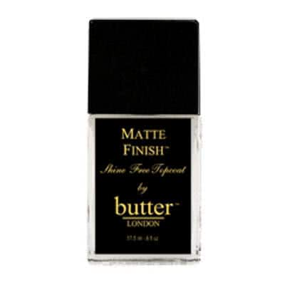 butter LONDON Matte Finish Shine Free Topcoat