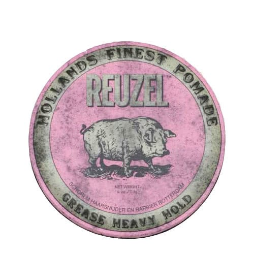 Reuzel Pink Pig Grease - Heavy Hold by Reuzel