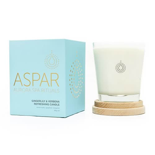 ASPAR Gingerlily & Verbana Refreshing Candle by ASPAR