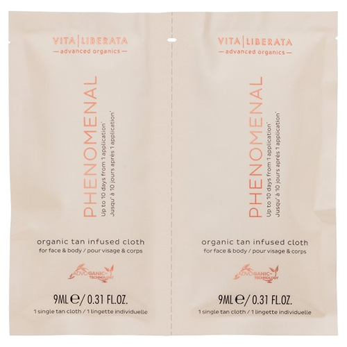 Vita Liberata pHenomenal Face & Body Tan Cloths - 8 pack