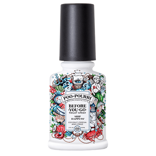 Poo Pourri Ship Happens Toilet Spray